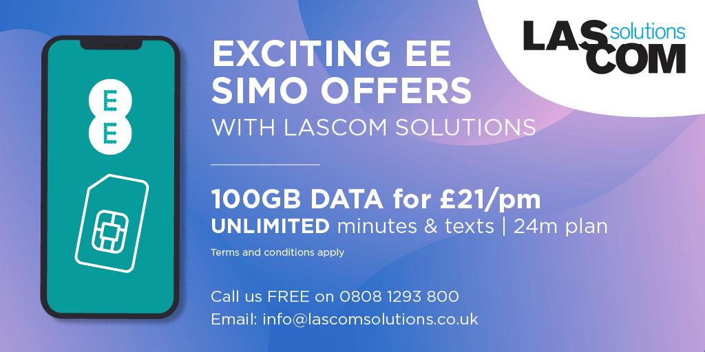 EE SIMO 100GB Lascom Solutions