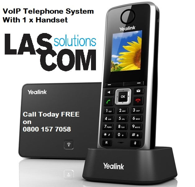New VoIP Telephone System With 1 Telephone
